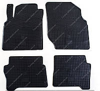 Резиновые коврики Ниссан Альмера Н16 в салон (коврики на Nissan Almera N16)