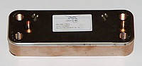 Пластинчатый вторичный теплообменник BAXI. 12 пластин. Код: 20490240