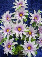 Искусственные цветы, букет гербера гигант (5 шт в уп)