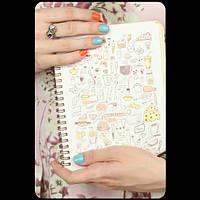 Кулинарная книга - Вкусняшки №2+ комплект наклеек