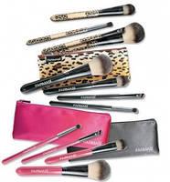 """Кисточки для макияжа в косметичке """"Леопард"""", 9700276"""
