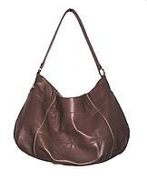 Мягкая сумка из кожи