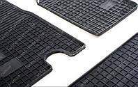 Резиновые коврики Ниссан Интерстар 1 (коврики Interstar комплект 2 шт, в салон)