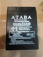 Акумуляторная батарея (атава) 6v 6 ah