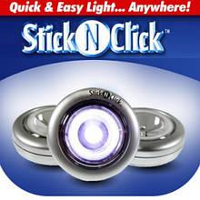 Светодиодные светильники Stick n Click 3шт.