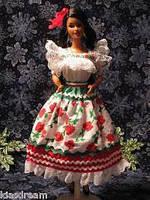 Коллекционная кукла Барби Mexican Barbie Collector Edition 1995, фото 2
