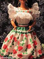 Коллекционная кукла Барби Mexican Barbie Collector Edition 1995, фото 3