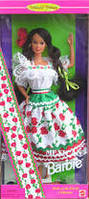 Коллекционная кукла Барби Mexican Barbie Collector Edition 1995, фото 4