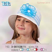 Шляпа для девочки TuTu арт. 3-001538