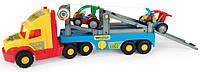 Детский грузовик с машинками Багги Wader Super Truck 36630