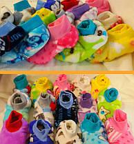Тапочки-ботиночки детские махровые.