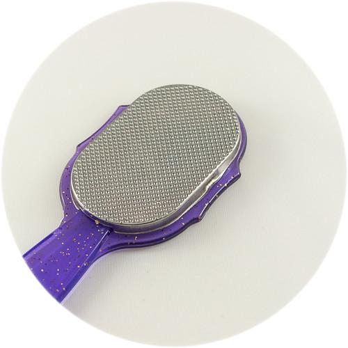 терка для ног фиолетовая