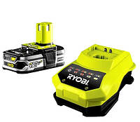 Аккумулятор и зарядное Ryobi RBC18L13