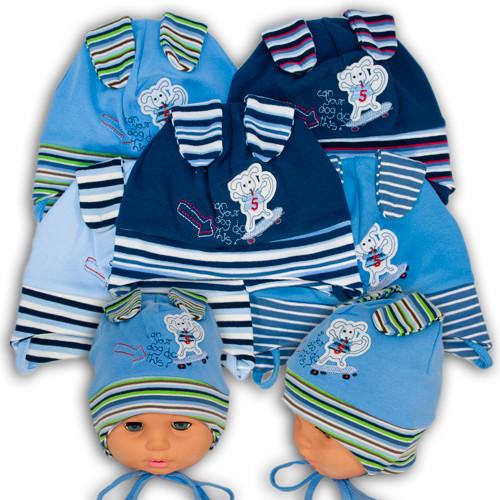 Детские трикотажные шапки для мальчиков Fido