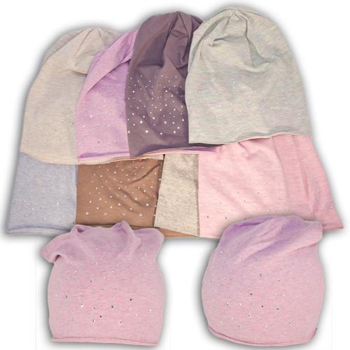 Детские трикотажные шапки для девочек Fido