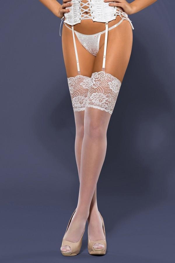 """Сексуальные чулки под пояс Obsessive S803 stockings - """"Изабель"""" - эротическое белье и одежда  в Бердянске"""
