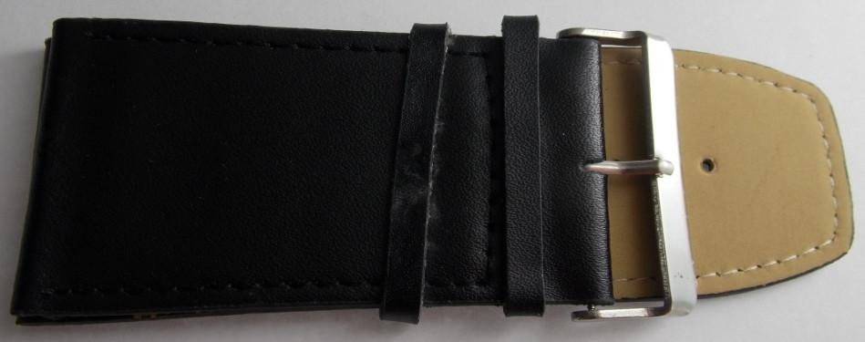 Ремешок кожаный LUX (Польша) 40 мм, черный