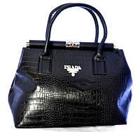 Молодежная женская лакированная сумка