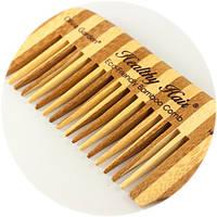 Расческа бамбуковая Olivia Garden HH-C3