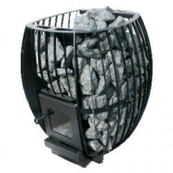 Піч-кам'янка для лазень і саун HEAT Скеля 20 (без виносу, пофарбований корпус)