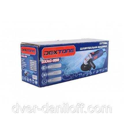Шлифмашина угловая Dextone DXAG-950 Болгарка, фото 2