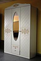 Шкаф распашной Лючия белый, фото 1