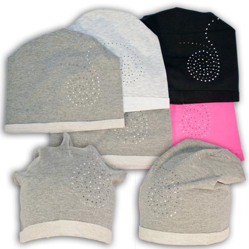 Трикотажная шапочка для девочек производитель Польша