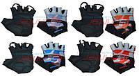 Перчатки спортивные перчатки велосипедные. размер М