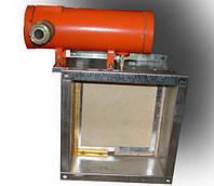 Клапан противопожарный взрывозащищенный КПУ-1Н-О-В-1500х1500