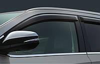 Дефлекторы автомобильные Volkswagen Tiguan 2007 -> С Хром молдингом