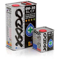 Синтетическое моторное масло XADO Atomic Oil 0W-30 SL/CF 4 л. XA 20201