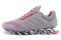 Женские кроссовки  Adidas Springblade 2 Drive Grey Pink