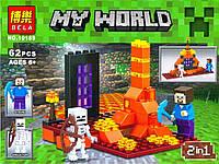 Конструктор Minecraft 10189 BELA