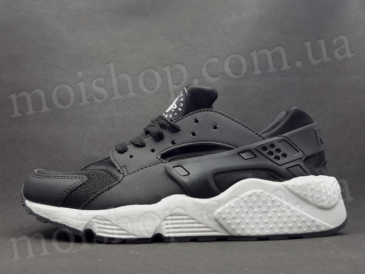 Кроссовки Nike Huarache, черно-белые