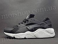 Кроссовки Nike Huarache, черно-белые, фото 1