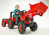 Трактор Педальный с Прицепом и Ковшом Kubota Falk 2060AM