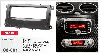 1-DIN переходная рамка FORD Focus II,Mondeo, S-Max, C-Max 2007-2011; Galaxy II 2006-2011; Kuga, CARAV 08-001