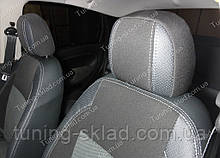 Чехлы на сиденья Фиат Линеа (чехлы из экокожи Fiat Linea стиль Premium)