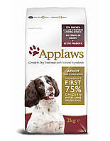 APPLAWS корм для взрослых собак мелких и средних пород Курица с ягненком 7,5 kg