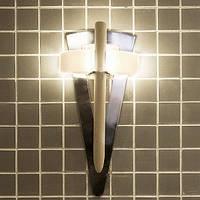 Светильник Факел TL-100 с дер. стержнем (Cariitti ) для бани и сауны