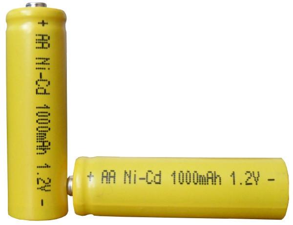 """Аккумулятор АА """"пальчиковый"""" 1000mA, 1.2В"""