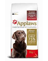 APPLAWS корм для взрослых собак крупных пород Курица 7.5 kg