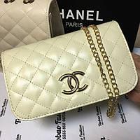 Сумка Chanel бежевая: купить недорого копия продажа, цена