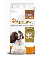 APPLAWS  корм для взрослых собак мелких и средних пород с Курицей 7,5 kg