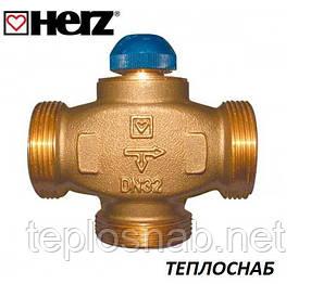 """HERZ Клапан термостатический трехходовой CALIS-TS-RD 1"""" (DN25-1 1/4""""РН)"""