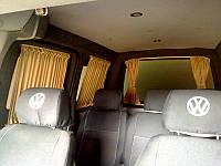 Автомобильные шторки Volkswagen Caddy - Фольксваген Кадди бежевые