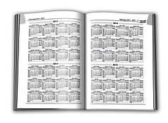 """Ежедневник А5  192л. не датированый, обложка цветная ламинированная """"сендвич"""", блок офсет импортный 60г/м2, кл"""