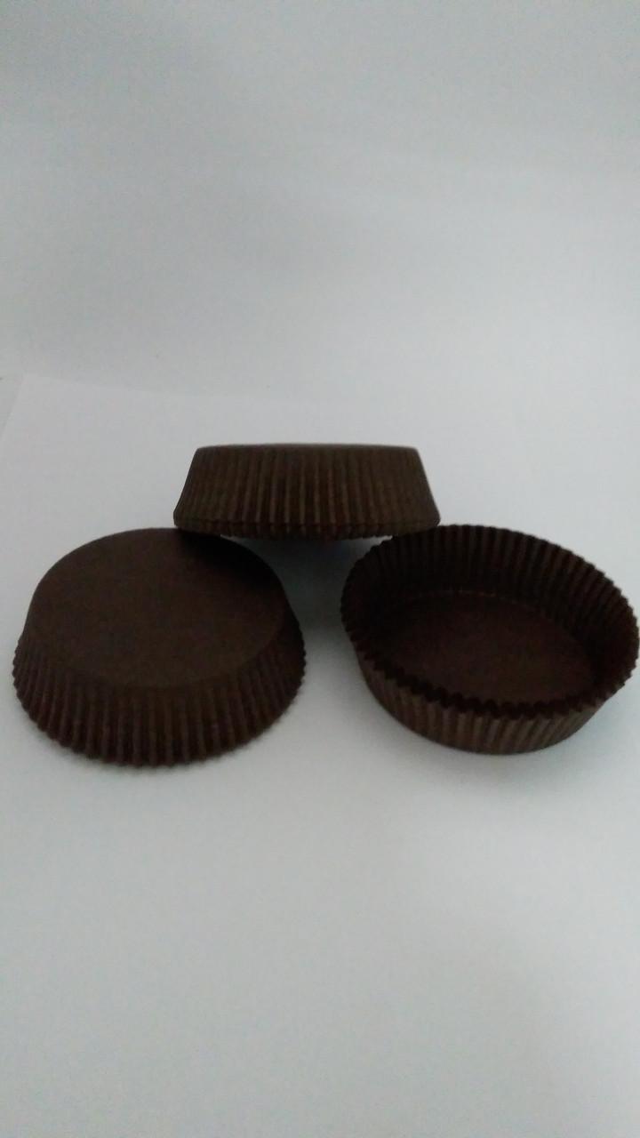 Форма для тарта коричневая 70*22,5 мм(код 04808)