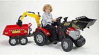 Трактор Педальный с Прицепом и двумя Ковшами McCormick Falk 1030W