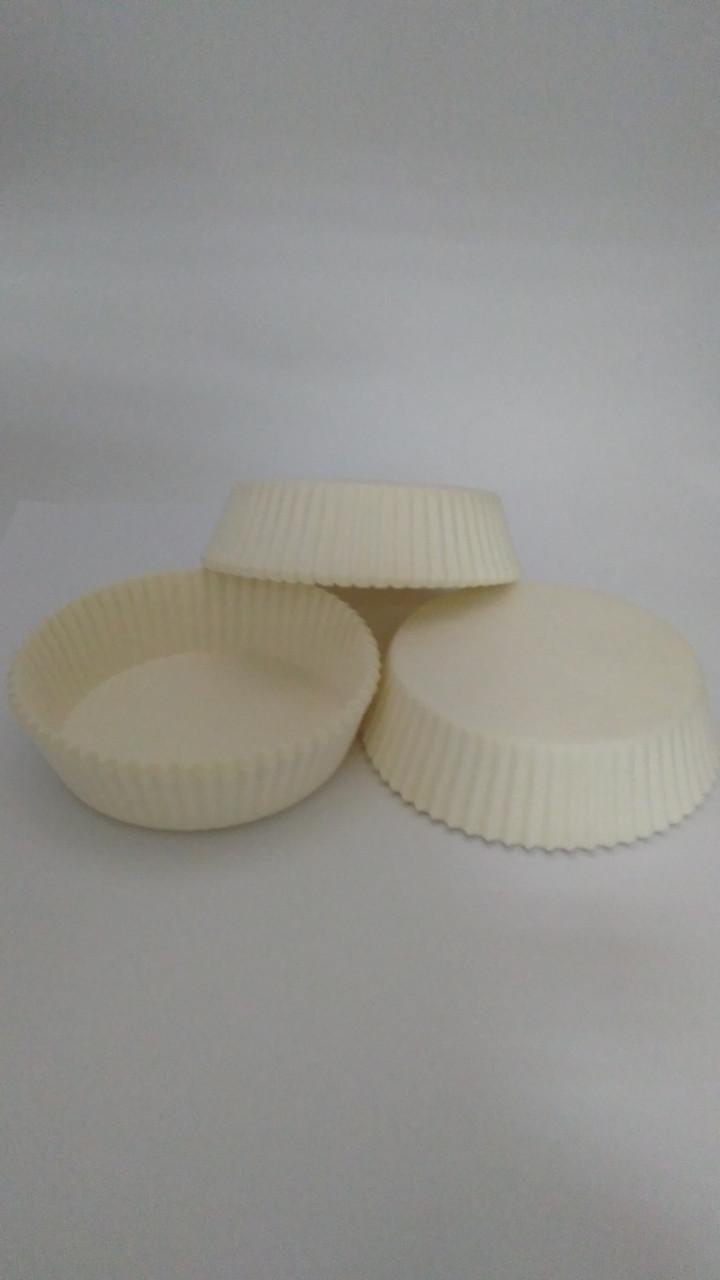 Форма для тарта белая 90*20 мм (код 04804)